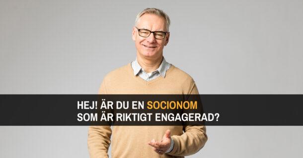 Är du en socionom som är riktigt engagerad?